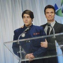 Logan Huffman e Christopher Shyer nell'episodio Concordia di V