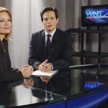 Ona Grauer e Scott Wolf in una scena dell'episodio Concordia di V