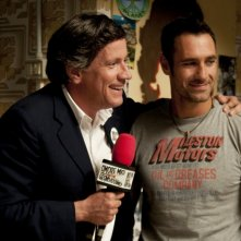 Riccardo Rossi con Raoul Bova nel film Nessuno mi può giudicare