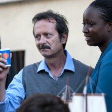 Rocco Papaleo in una scena del film Nessuno mi può giudicare