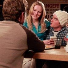 Shawn Ashmore, Emma Bell e Kevin Zegers in una scena del film Frozen