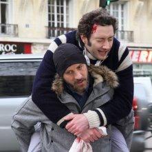 Vincent Desagnat e Nader Boussandel, protagonisti della commedia Au bistro du coin