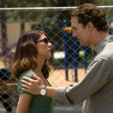 Marisa Tomei  con Matthew McConaughey nel film The Lincoln Lawyer
