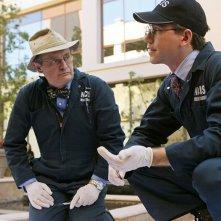 David McCallum e Brian Dietzen in una scena dell'episodio Kill Screen di NCIS