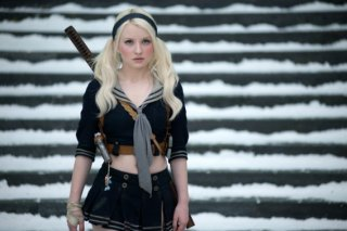 Emily Browning, protagonista del film Sucker Punch