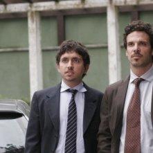 Francesco Barilli e Francesco Montanari nel thriller Sotto il vestito niente - L'ultima sfilata
