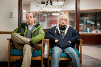 Paul Giamatti con Alex Shaffer nel film Win Win