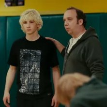 Paul Giamatti ed Alex Shaffer in una scena del film Win Win
