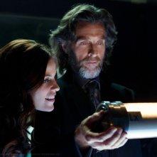 Tess (Cassidy Freeman) e Luthor (John Glover) in una scena dell'episodio Scion di Smallville