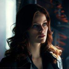 Tess (Cassidy Freeman) in una sequenza dell'episodio Scion di Smallville