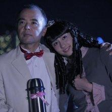 Toshiya Sakai con Akari Hayami nel film The Citizen Police 69