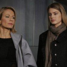 Vanessa Hessler e Claudine Wilde nel thriller Sotto il vestito niente - L'ultima sfilata