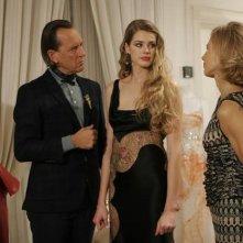 Vanessa Hessler tra Richard E. Grant e Claudine Wilde nel thriller Sotto il vestito niente - L'ultima sfilata
