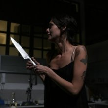 Virginie Marsan in una scena del film Sotto il vestito niente - L'ultima sfilata