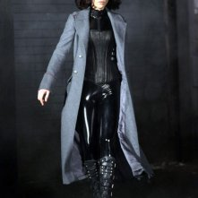 Kate Beckinsale sul set del nuovo film 'Underworld 4'