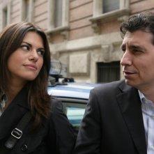 Bianca Guaccero con Riccardo Leto ne Il Bene e il male
