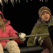 Emma Bell e Shawn Ashmore in una sequenza di Frozen