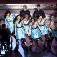 I New Directions in scena nell'episodio La nostra canzone di Glee