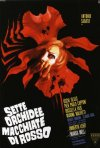 Locandina del film Sette orchidee macchiate di rosso