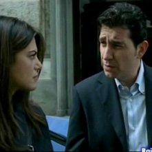 Riccardo Leto con Bianca Guaccero ne Il Bene e il male