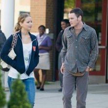 Jennifer Lawrence e Anton Yelchin in Mr. Beaver
