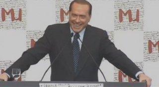 Silvio Berlusconi in un'immagine dal documentario Silvio Forever