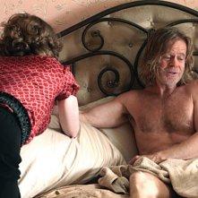 Joan Cusack e William H. Macy nell'episodio Frank the Plank della serie Shameless