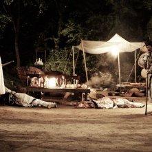 Una scena notturna di Blades of Blood