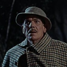André Morell in una scena del film La furia dei Baskerville