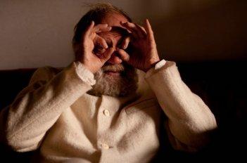Bruno Ganz in un'immagine del film La fine è il mio inizio