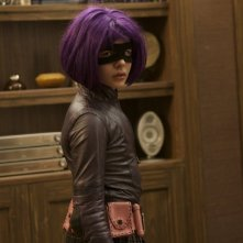Chloe Moretz è Hit-Girl nel film Kick-Ass