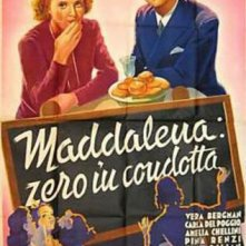 La locandina di Maddalena, zero in condotta