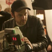 Matthew Vaughn sul set di Kick-Ass