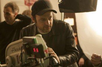 Matthew Vaughn sul set di Kick-Ass