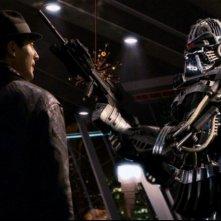 Una scena dell'episodio Contraccolpo della serie Caprica
