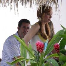 Adam Sandler con Nicole Kidman nel film Just Go With It