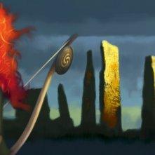 Brave, una delle prime immagini del film Pixar