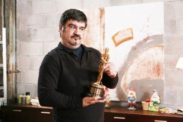 Francesco Pannofino in una scena divertente di Boris il film