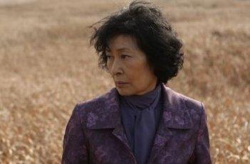 Kim Hye-ja in una scena del film Mother