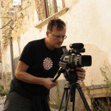 Paolo Pisanelli a Villa Sant'Angelo nel film Ju tarramutu