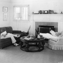 Randolph Scott e Cary Grant fotografati nell'intimità della casa che condividevano insieme