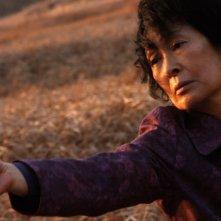 Una drammatica immagine di Kim Hye-ja, protagonista del dramma coreano Mother