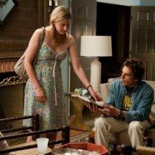 Greta Gerwig e Ben Stiller in una scena di Greenberg
