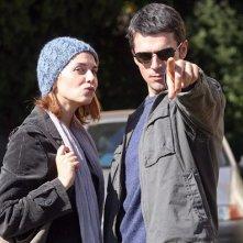 Paola Cortellesi e Luca Argentero nella commedia C'è chi dice no