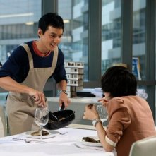 Daniel Wu in una scena del film Don't Go Breaking My Heart