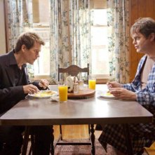 Kevin Bacon con Rainn Wilson nel film Super