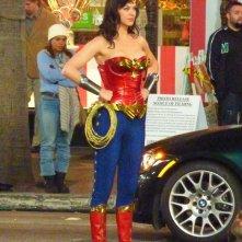 La nuova Wonder Woman di Adrianne Palicki sul set della serie