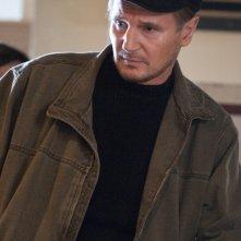 Liam Neeson in una scena del film The Next Three Days