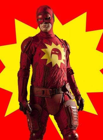 Un eroico Rainn Wilson in Super