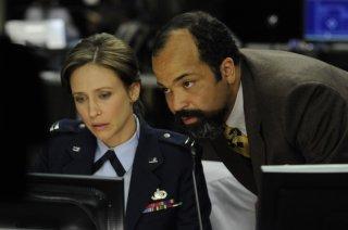 Vera Farmiga e Jeffrey Wright nel film The Source Code